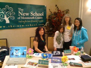 Parents & Older Classers talk about TNS at a recent parenting conference