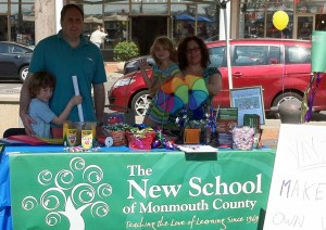 TNS parents spread the word at a local Calendar for Kids expo